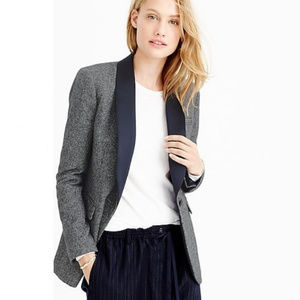 J.CREW Collection shawl-collar Wool Blazer tweed
